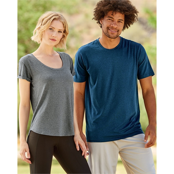 Weatherproof Cool Last Heathered Lux T-S