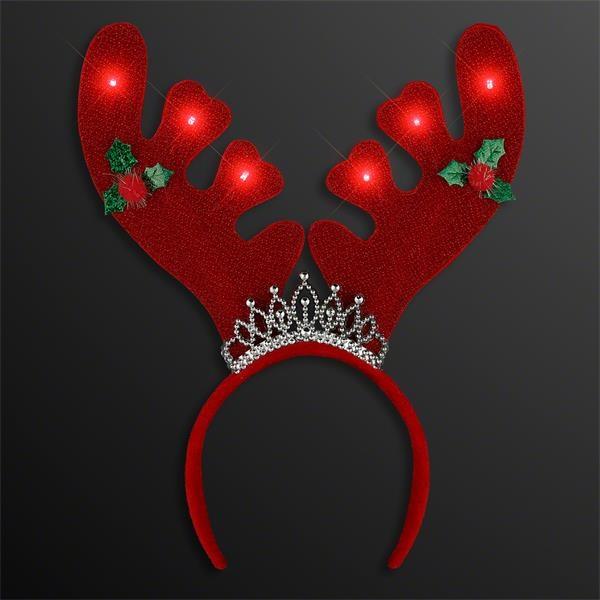 Christmas Queen Light Up Antlers Headband