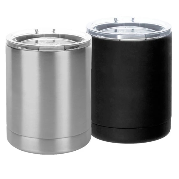 10oz stainless steel tumbler with lid