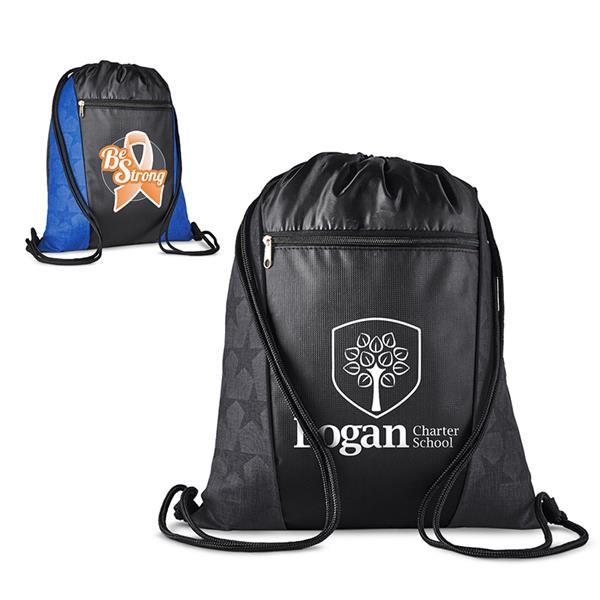 Constellation Polyester Drawstring Backpack