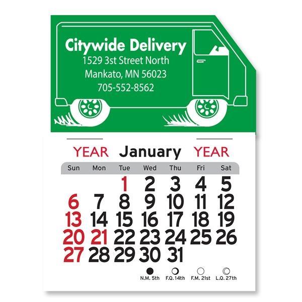 Truck Peel-N-Stick® Calendar