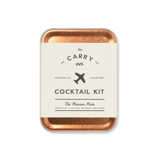 W&P Moscow Mule Carry On Cocktail Kit