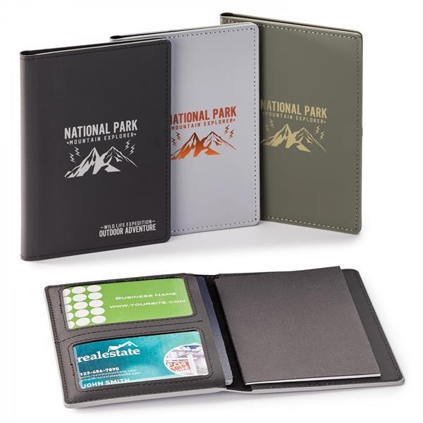 WILD   RFID PASSPORT HOLDER WITH MEMO BOOKLET
