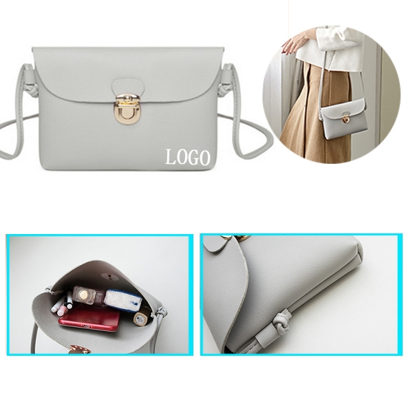 Snap Lock Mini Bag Messenger Bag