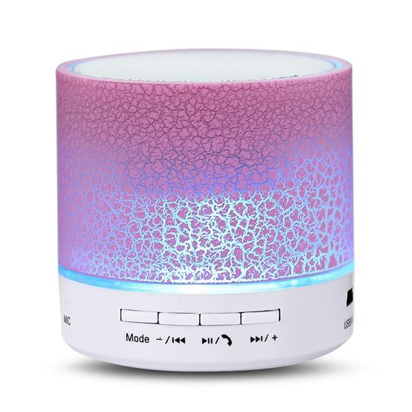 Mini Wireless Sound Box with LED Light