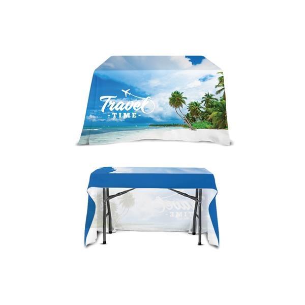 DisplaySplash 4' Open Back Table Throw