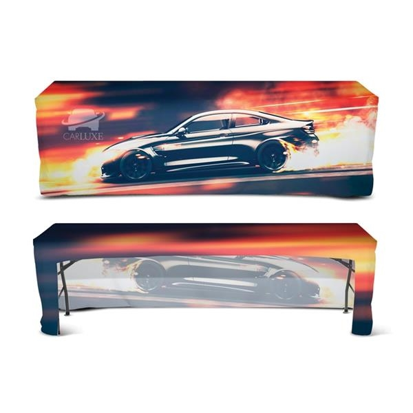 DisplaySplash 8' Fitted Open Back Table Cover