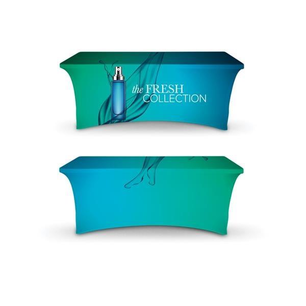 DisplaySplash 6' Stretch Table Cover