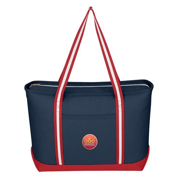 Large Cotton Canvas Admiral Tote