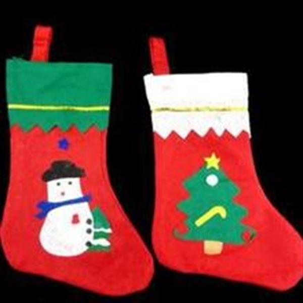 Christmas Snata Socks