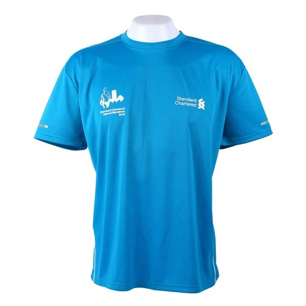 Breathable Dry Fit Performance Marathon Running T-Shirt