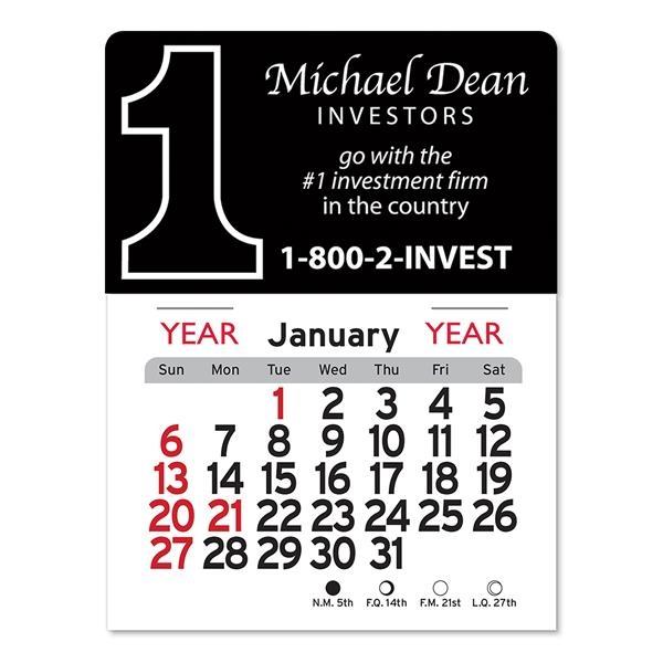 Number One Peel-N-Stick® Calendar