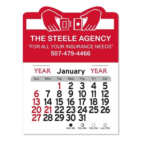 Buckle Up Shaped Peel-N-Stick® Calendar