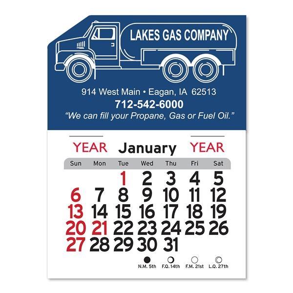 Propane Truck Peel-N-Stick® Calendar
