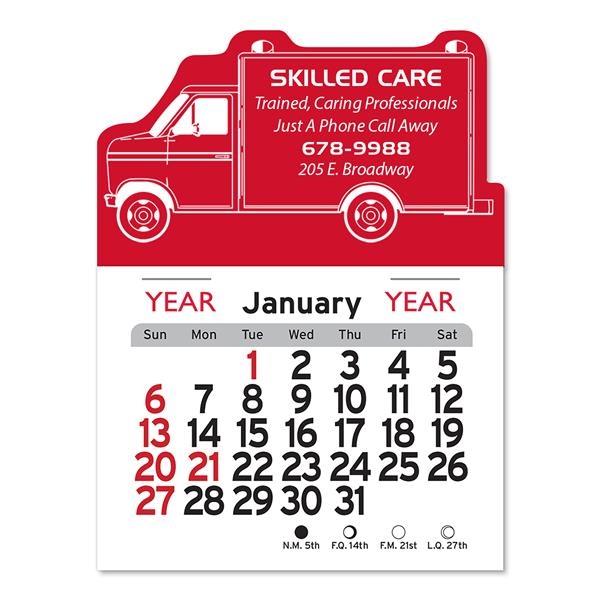 Ambulance Shaped Peel-N-Stick® Calendar