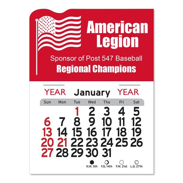 American Flag Peel-N-Stick® Calendar