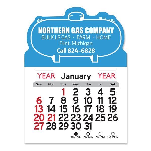 Propane Tank Shaped Peel-N-Stick® Calendar