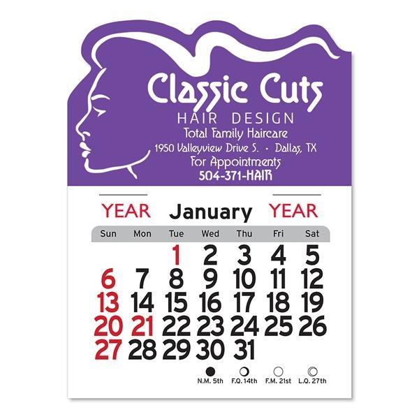Salon Peel-N-Stick® Calendar