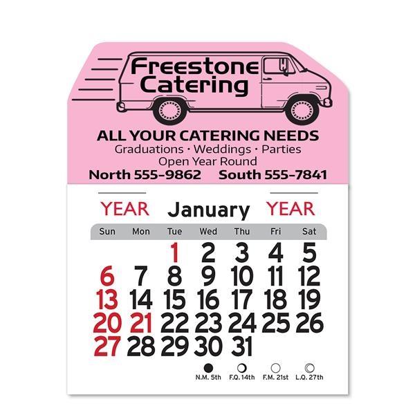 Delivery Van Peel-N-Stick® Calendar