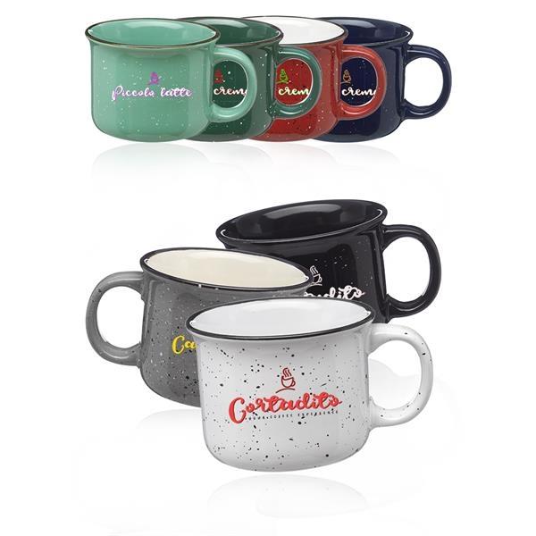 8 oz. Bijou Ceramic Campfire Coffee Mug