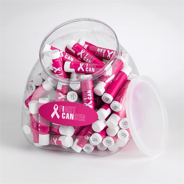 94 oz. Lip Balm Tub Display with 100 Sta