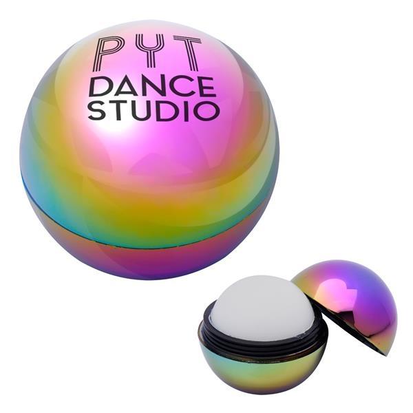Metallic Rainbow Lip Moisturizer Ball