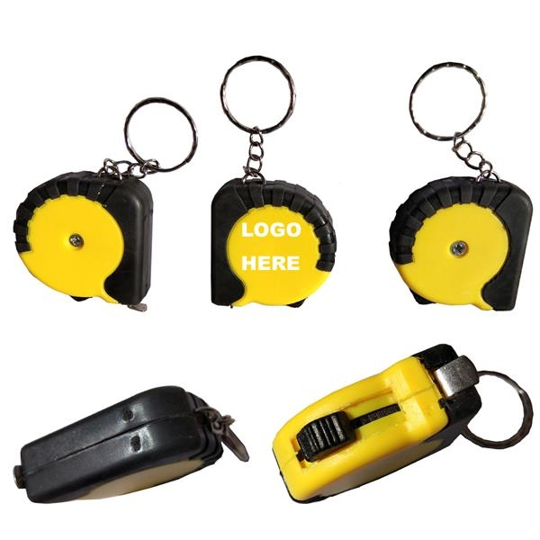 Metal Tape Measures with a Keychain