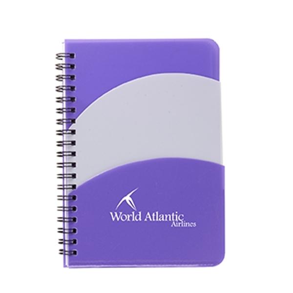 "5"" x 7"" Santiago Double Pocket Notebook"