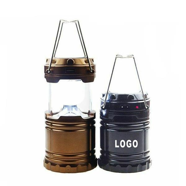Solar Pull Up Rechargeable Camping Lantern