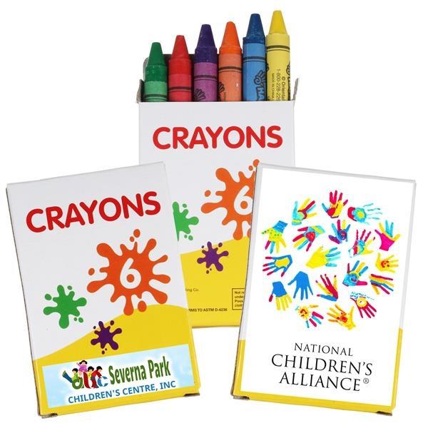 6 pk Crayons