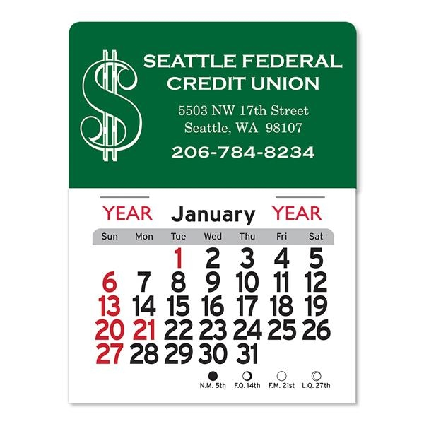 Dollar Sign Peel-N-Stick® Calendar