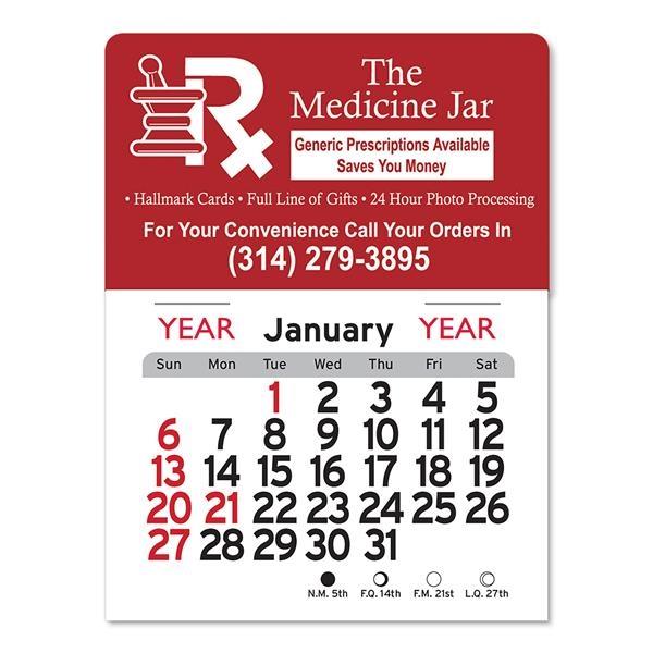 Medical Peel-N-Stick® Calendar