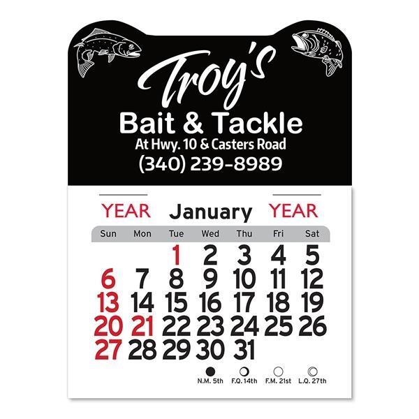 Fish Peel-N-Stick® Calendar