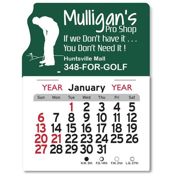 Golf Peel-N-Stick® Calendar