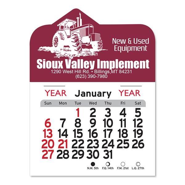 Tractor Peel-N-Stick® Calendar
