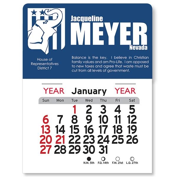Republican Peel-N-Stick® Calendar