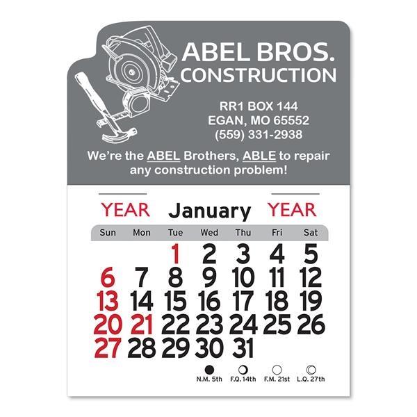 Carpentry Peel-N-Stick® Calendar