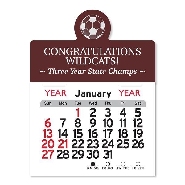 Soccer Peel-N-Stick® Calendar
