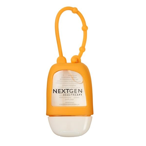 1oz. Hand Sanitizer Gel with Sleeve and Lanyard
