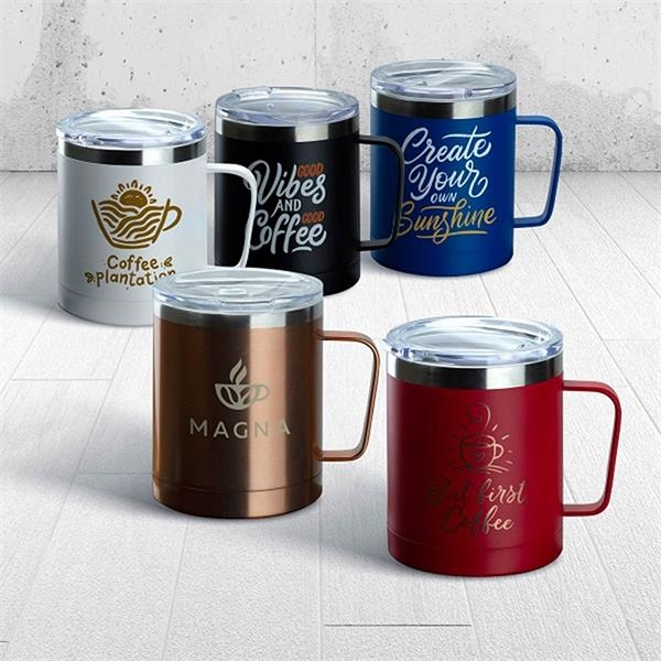Powder Coated Stainless Steel Mugs