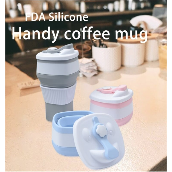 Magic Silicone Collapsible Coffee Cup
