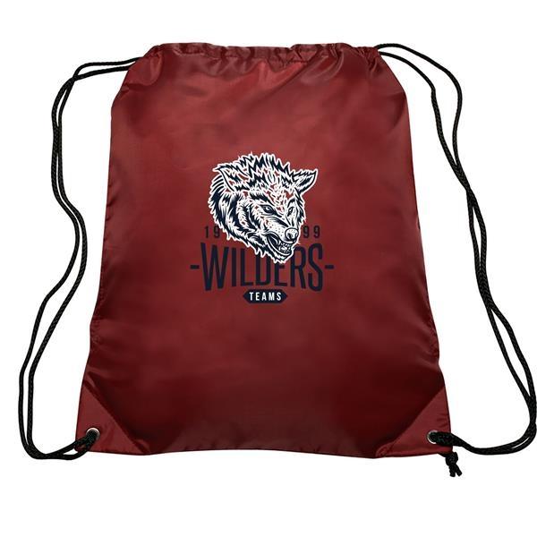 GO-EZ Polyester Drawstring Backpacks