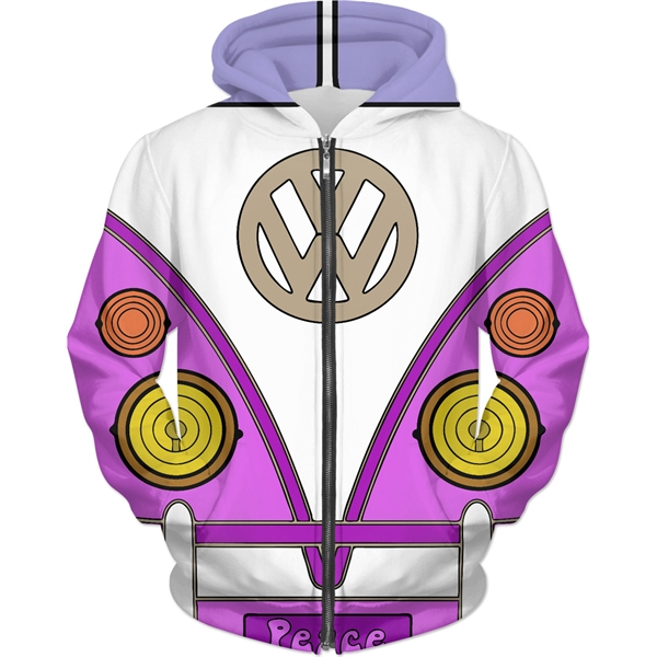 Missy Women's All-Over-Print Pull Over Hoodie!