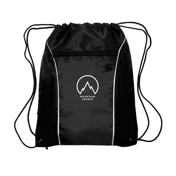 COLOR FLASH Drawstring Backpacks