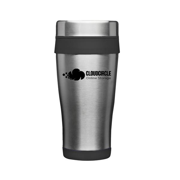 16 oz. Grab-N-Go Insulated Stainless Steel Travel Mugs