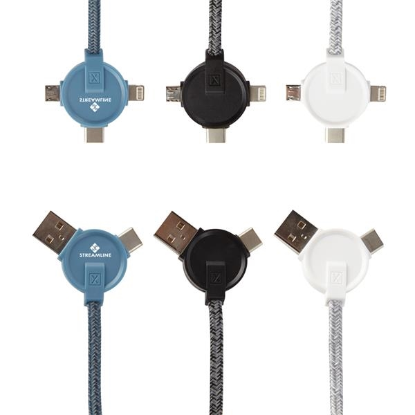 5 Ft. 3-In-1 Lithium CC - Charging Cable