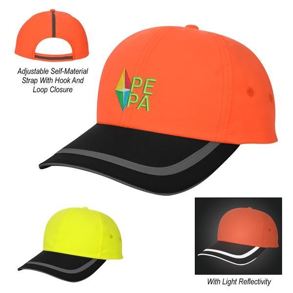 Enhanced Visibility Reflective Cap