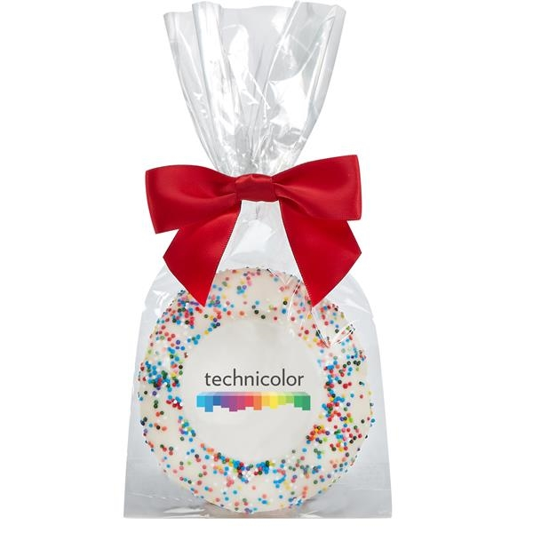 Sugar Cookie Gift Bags - Rainbow Nonpareil Sprinkles