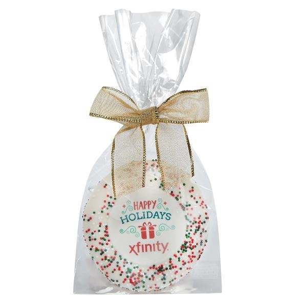 Sugar Cookie Gift Bags - Holiday Nonpareil Sprinkles