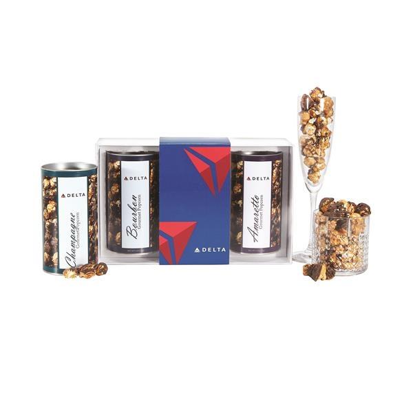 3 Way Boozy Popcorn Gift Set - Small